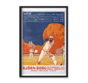 Björn Borg 2020 – Poster