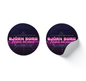 Björn Borg 2021 – Sticker